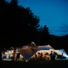 Amazing Free form tent weddings at Mofam
