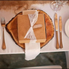 Wooden boards from Bride and Groom