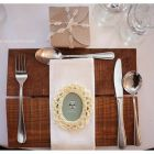 Our wooden under plates