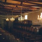 The barrel cellar for ceremony