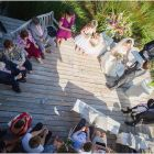 Ceremony on the deck