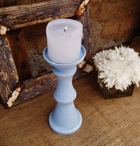Medium blue candle holder.jpg