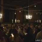 Chandeliers over Main table