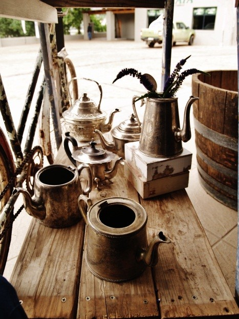 Variety of silver tea pots.jpg