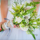 Country bouquet with yellow touches