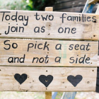 3 slat rustic signs